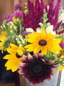 Fresh cut flower bouquets